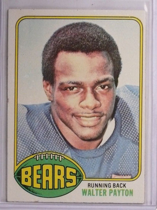 SOLD 8893 1976 Topps Walter Payton rc rookie #148 EX-MT *55100