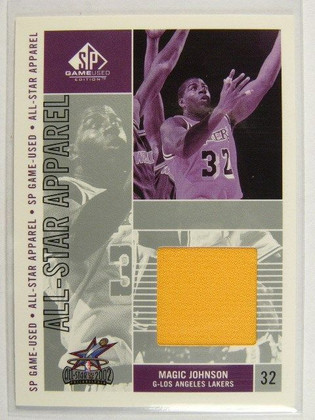 02-03 Sp Game Used All Star Appael Magic Johnson jersey #MG-AS *26127