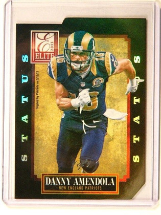 2013 Donruss Elite Status Black Parallel Danny Amendola #D 1/1 #60 *41250