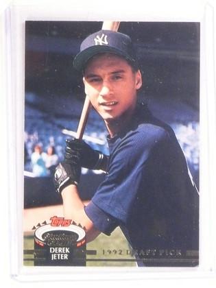 DELETE 9518 1993 Stadium Club Murphy Derek Jeter rc rookie #117 *67362