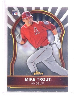 SOLD 9525 2011 Topps Finest Mike Trout rc rookie #94 *67381