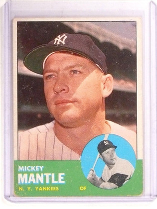 1963 Topps Mickey Mantle #200 VG-EX *67352