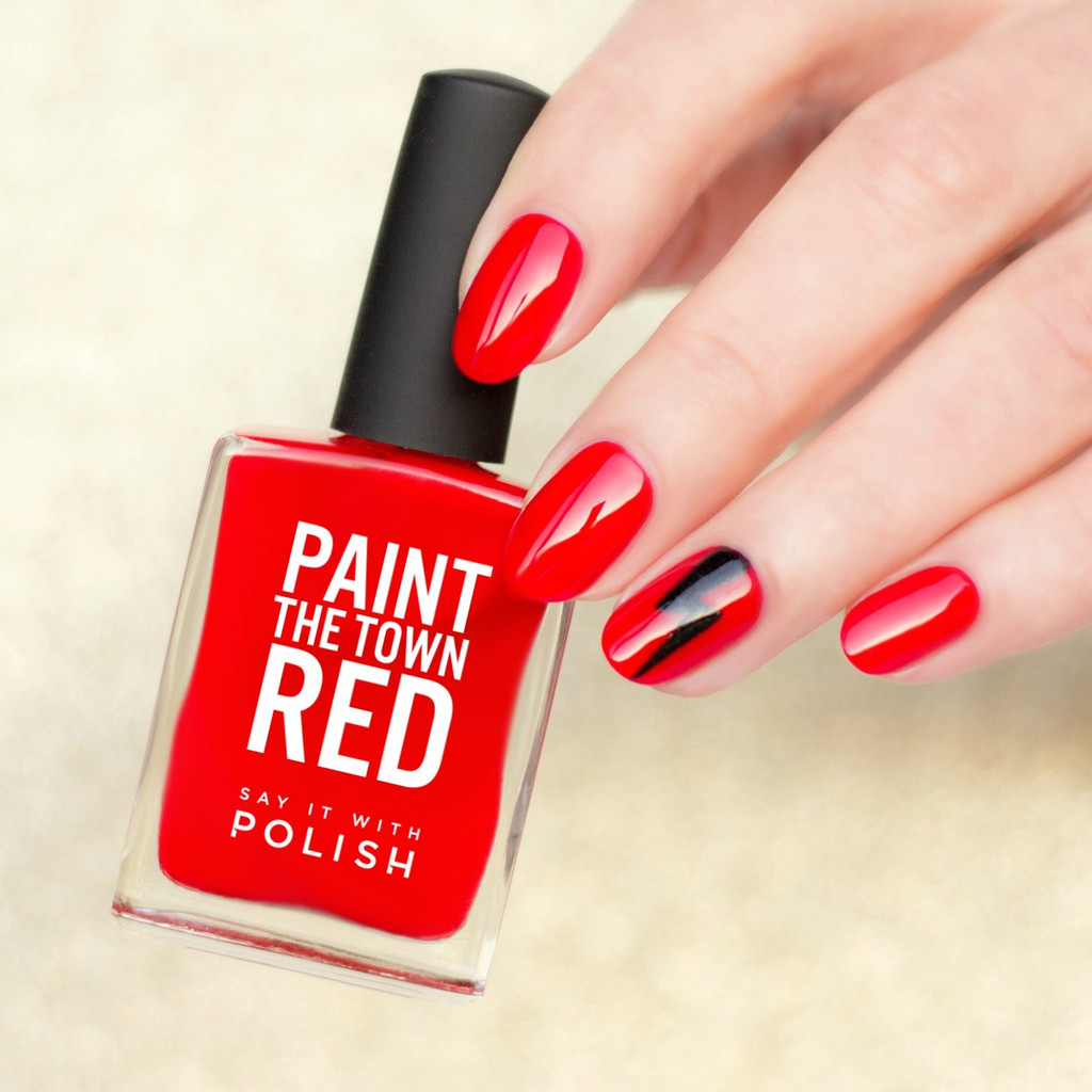 Say It With Polish - Paint The Town Red