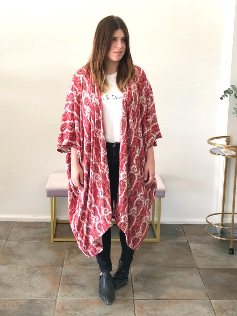 Frankie & Dandelion Midi Kimono - Anna