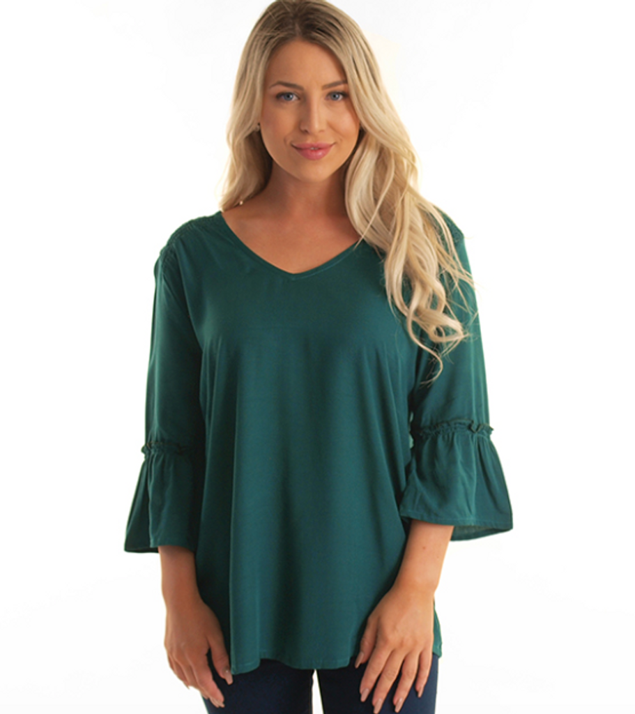 Freez Farrow Top Emerald
