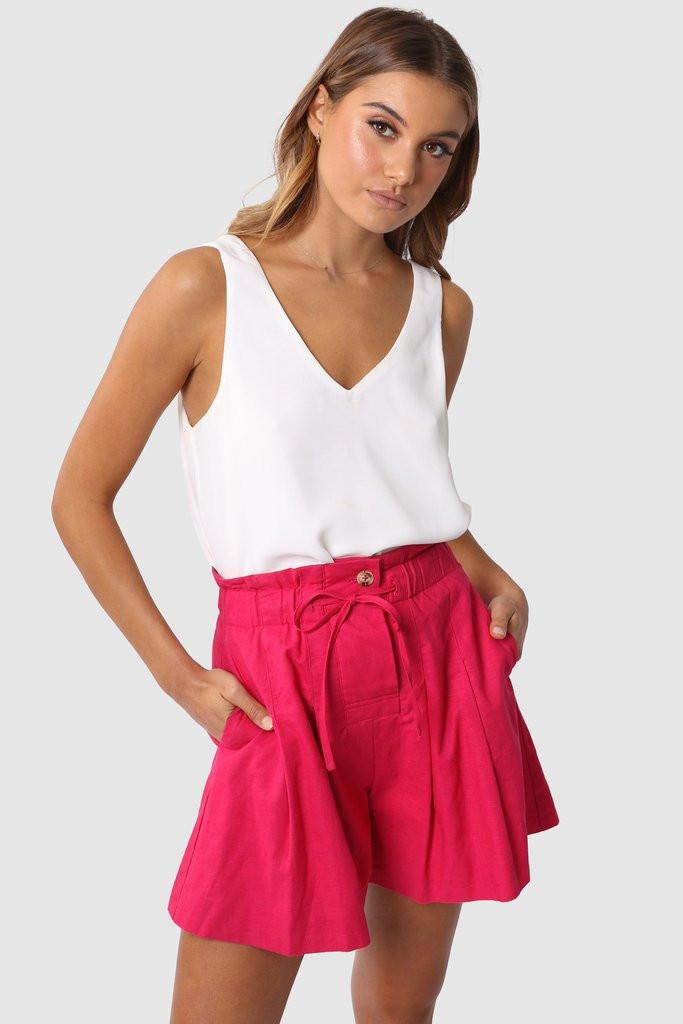 Madison The Label Mayla Shorts Fuchsia