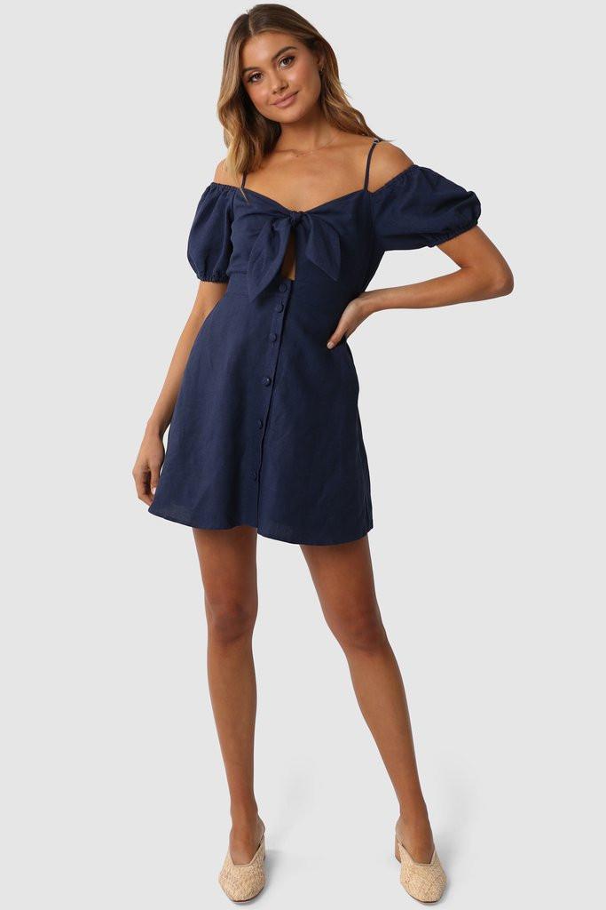 Madison The Label Tillie Dress Navy