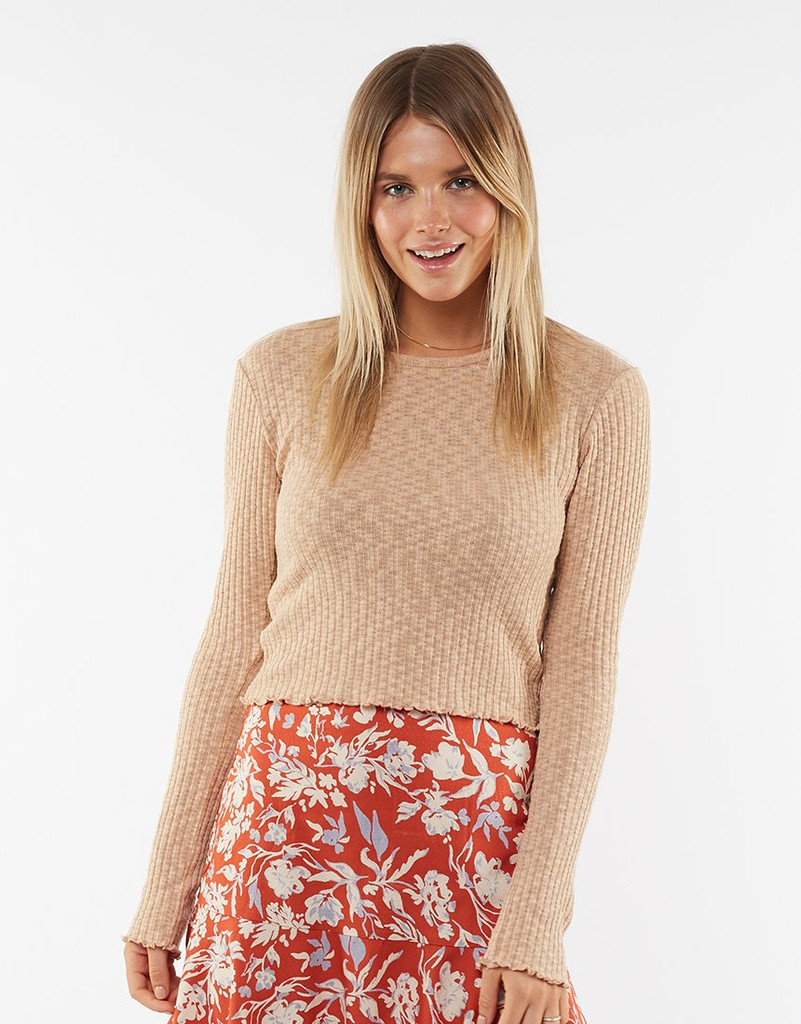 All About Eve Maya Knit Sand