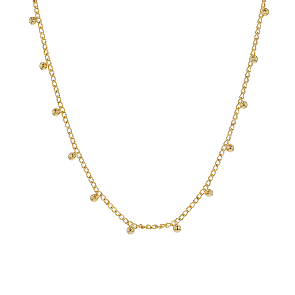 Jolie & Deen Tully Necklace Gold