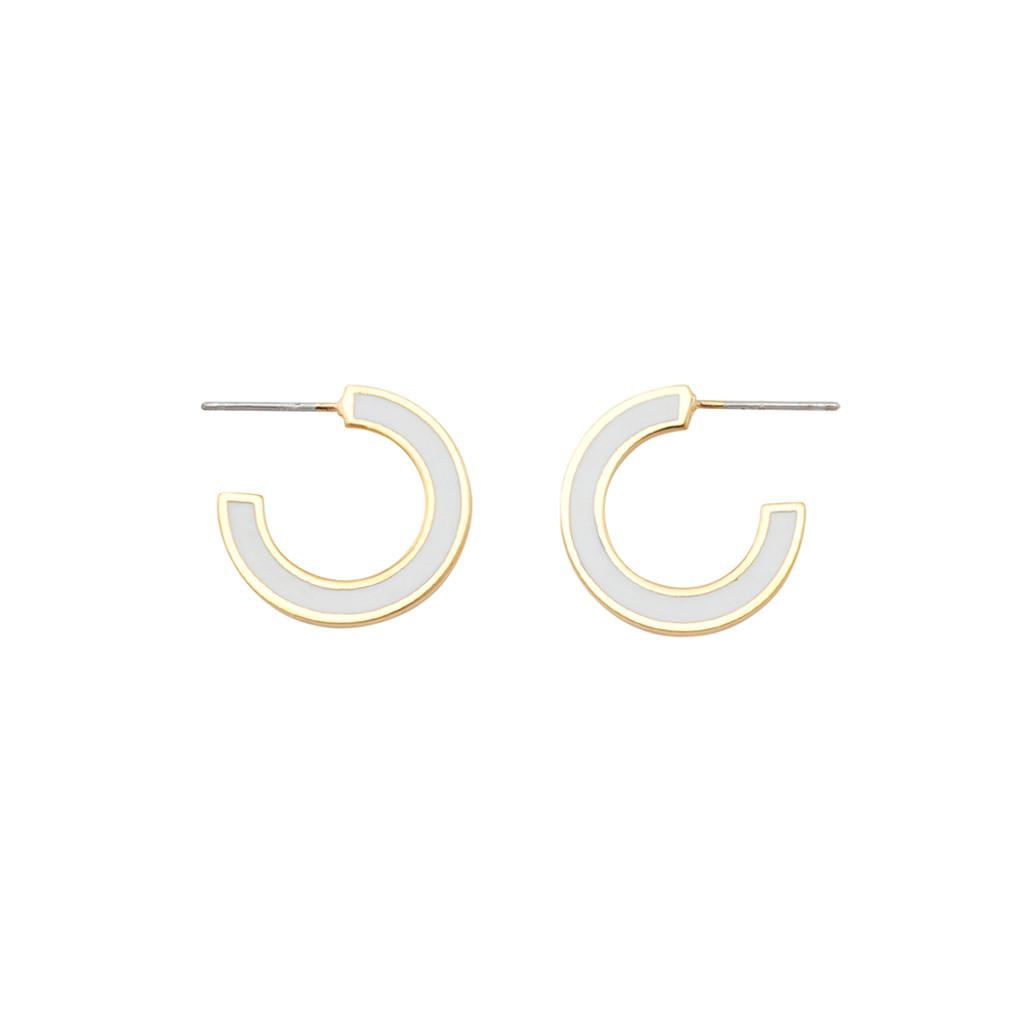 Jolie & Deen Elsa Enamel Earrings