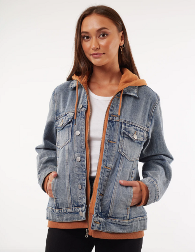 All About Eve Layered Denim Jacket