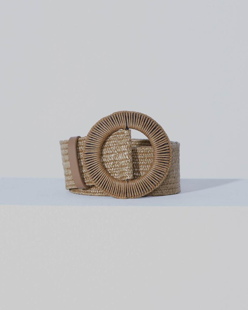Fate & Becker Loom Weaver Belt Natural