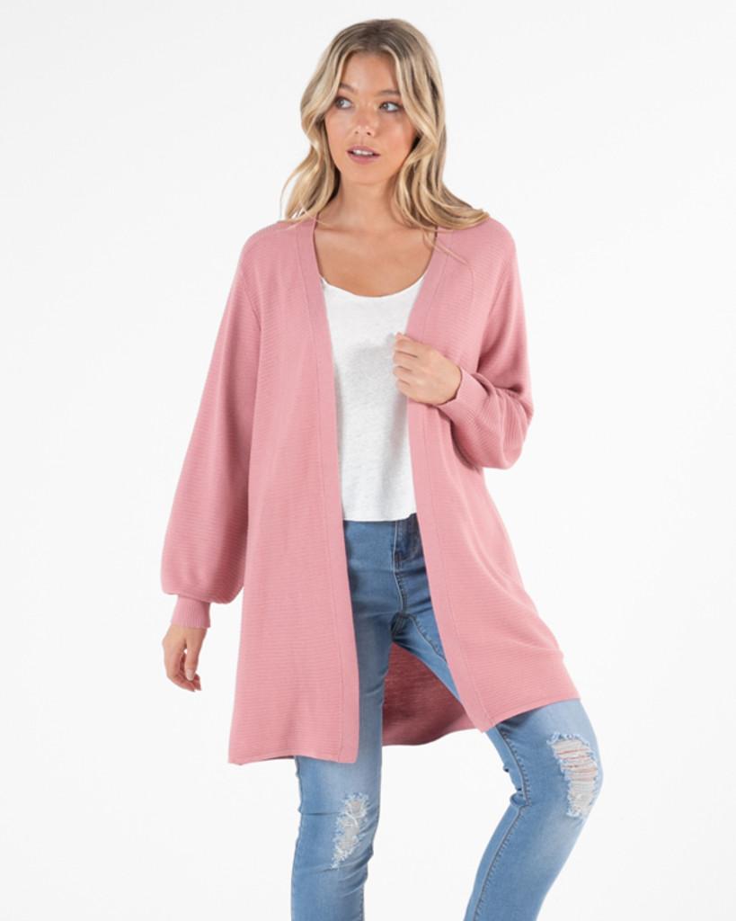 Sass Elsebeth Cardi Blush Pink