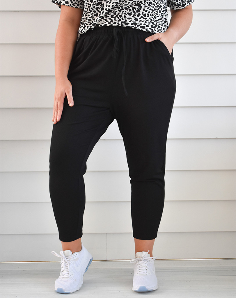 Freez Slouch Pant Black
