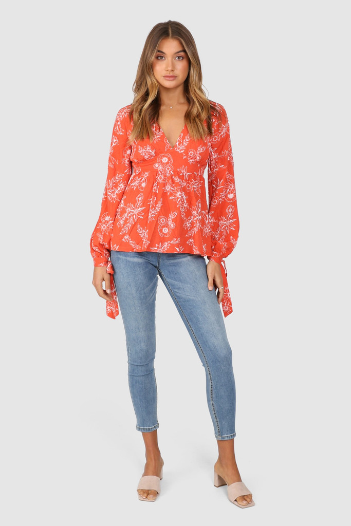 Lost In Lunar Esther Top
