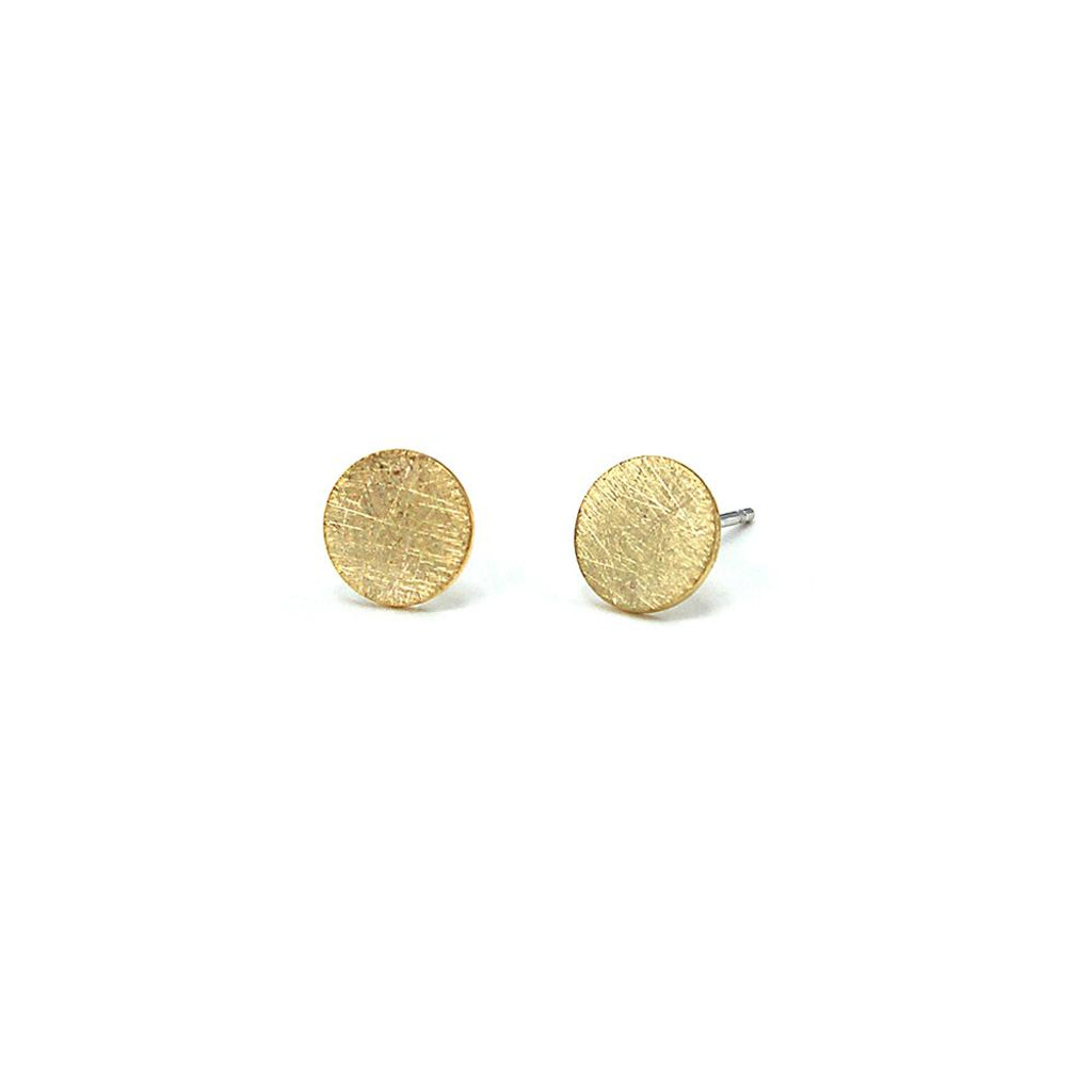 Jolie & Deen Circle Earrings Gold