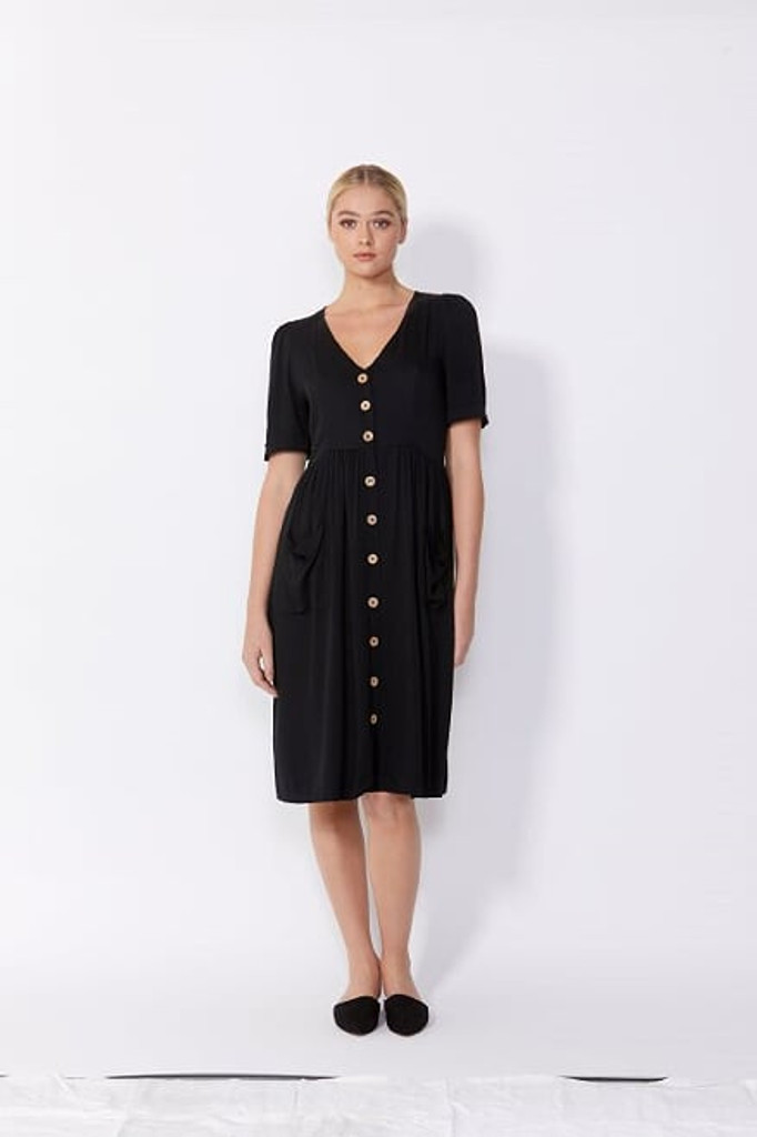 Sass Loren Dress Black
