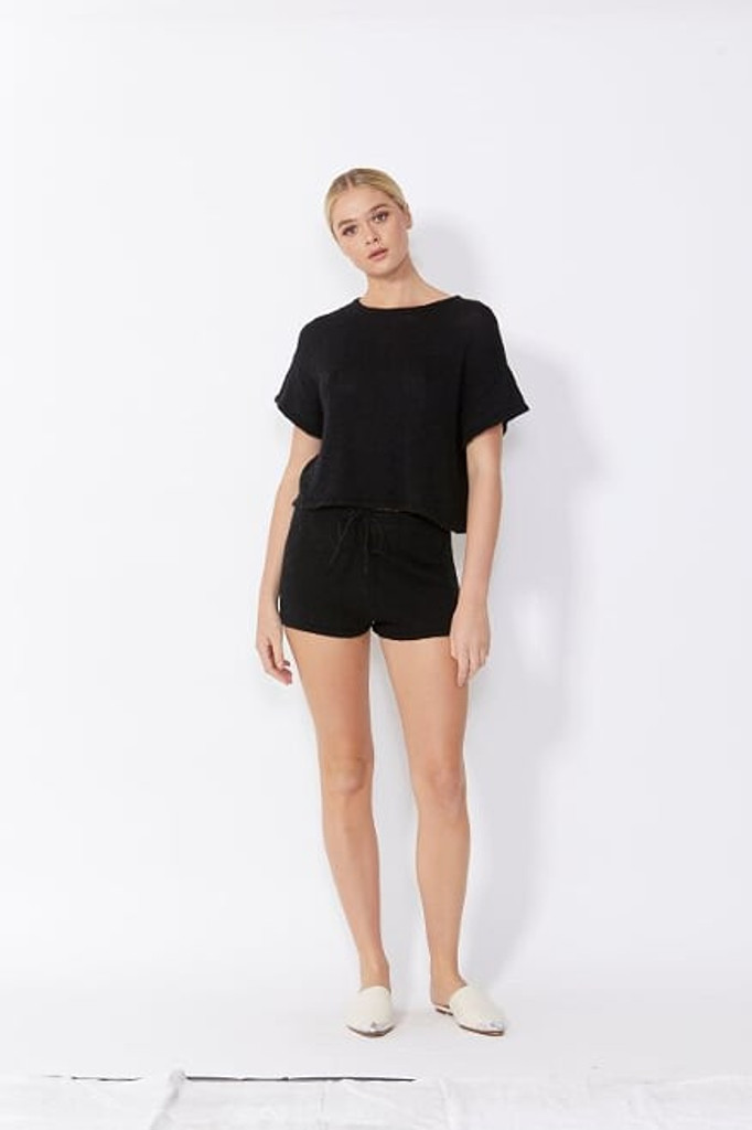 Sass Lottie Top Black