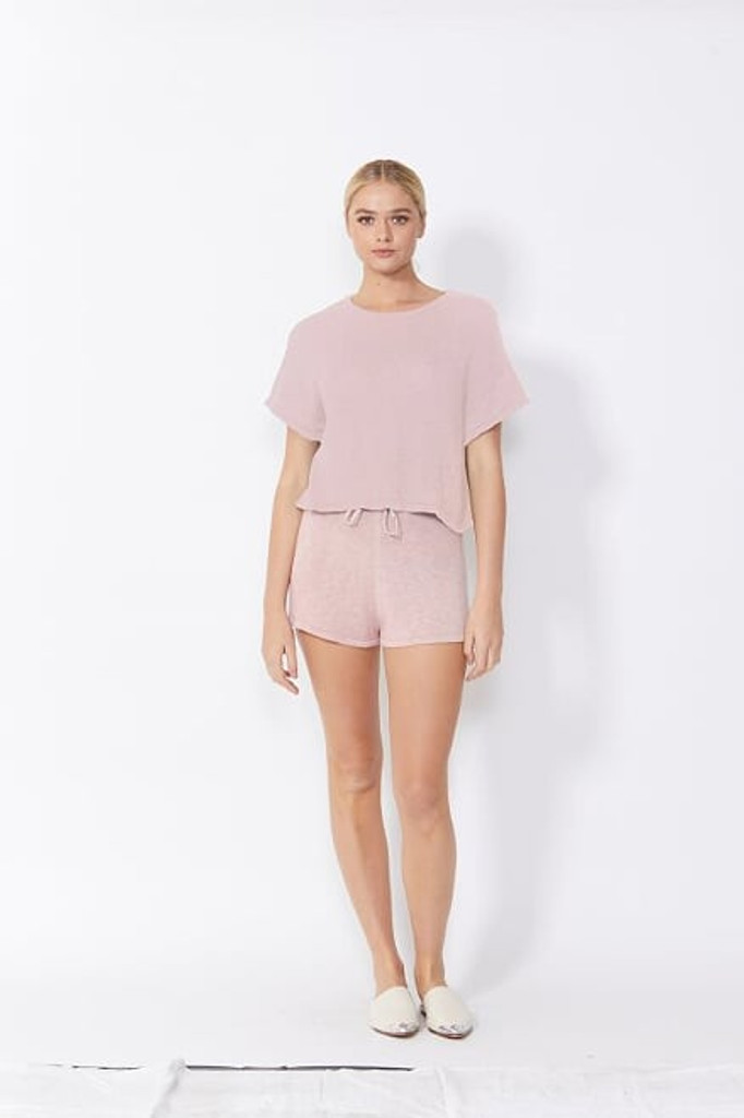 Sass Lottie Top Blush Pink