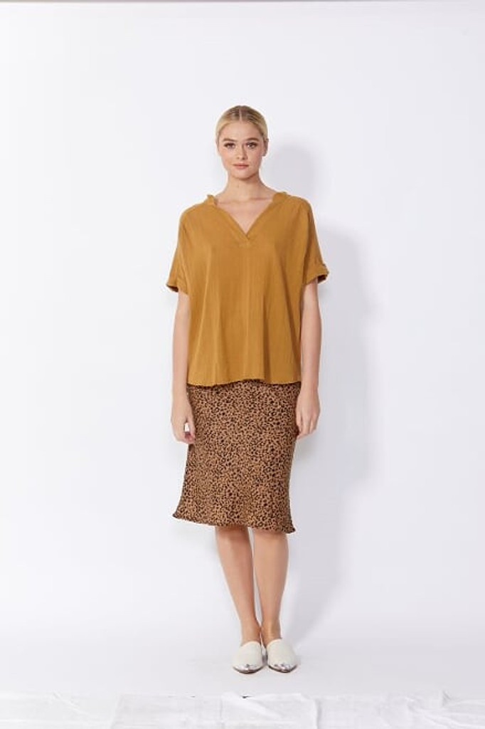 Sass Dharma Top Gold