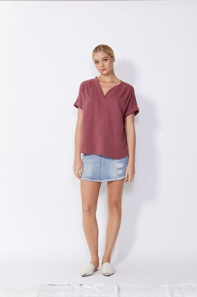 Sass Dharma Top Cherry