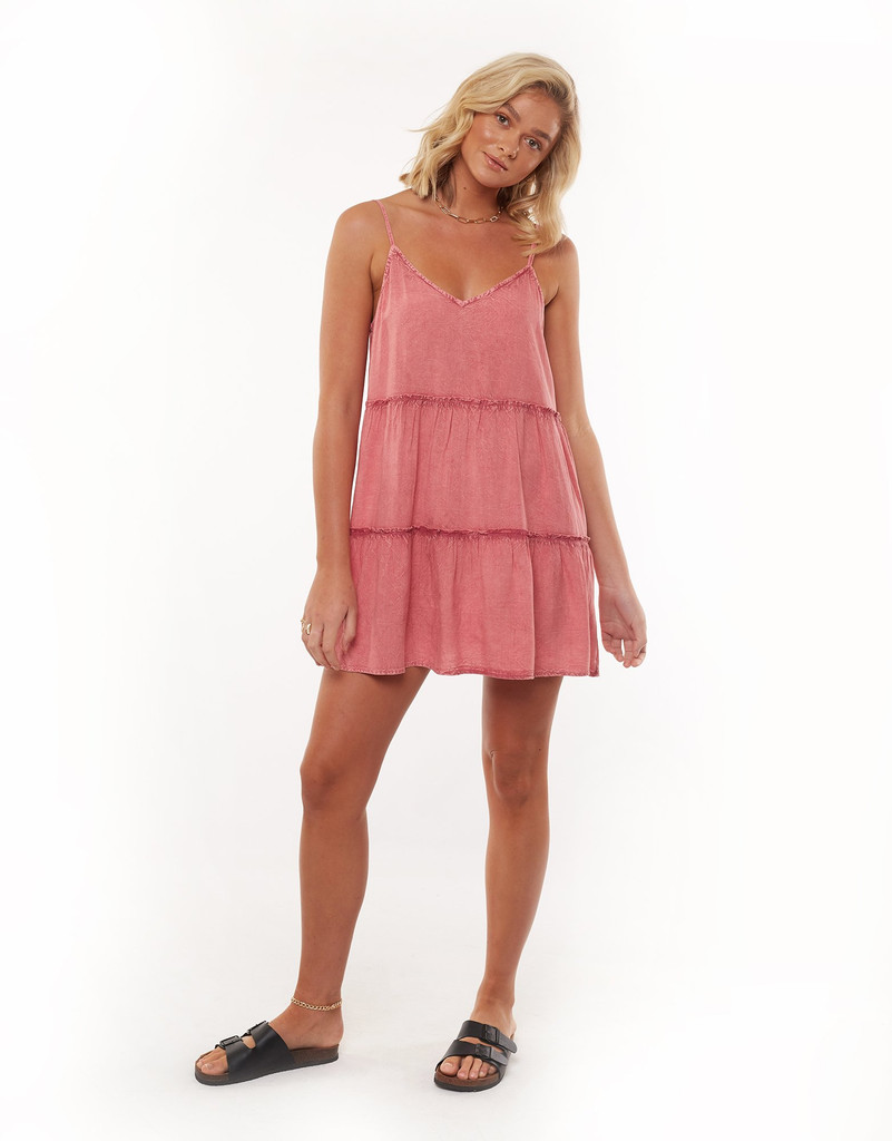 All About Eve Supple Washed Dress Pink