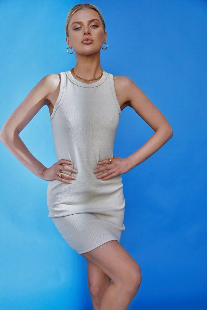 Madison The Label Faye Dress Stone