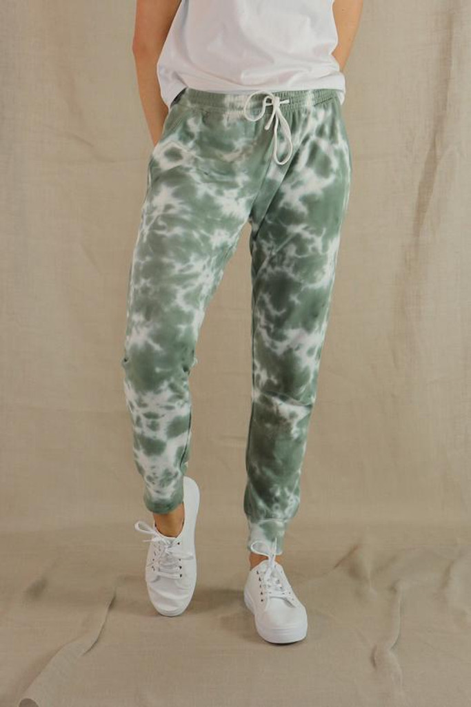 One Ten Willow Everyday Pant UFT Khaki Tie Dye