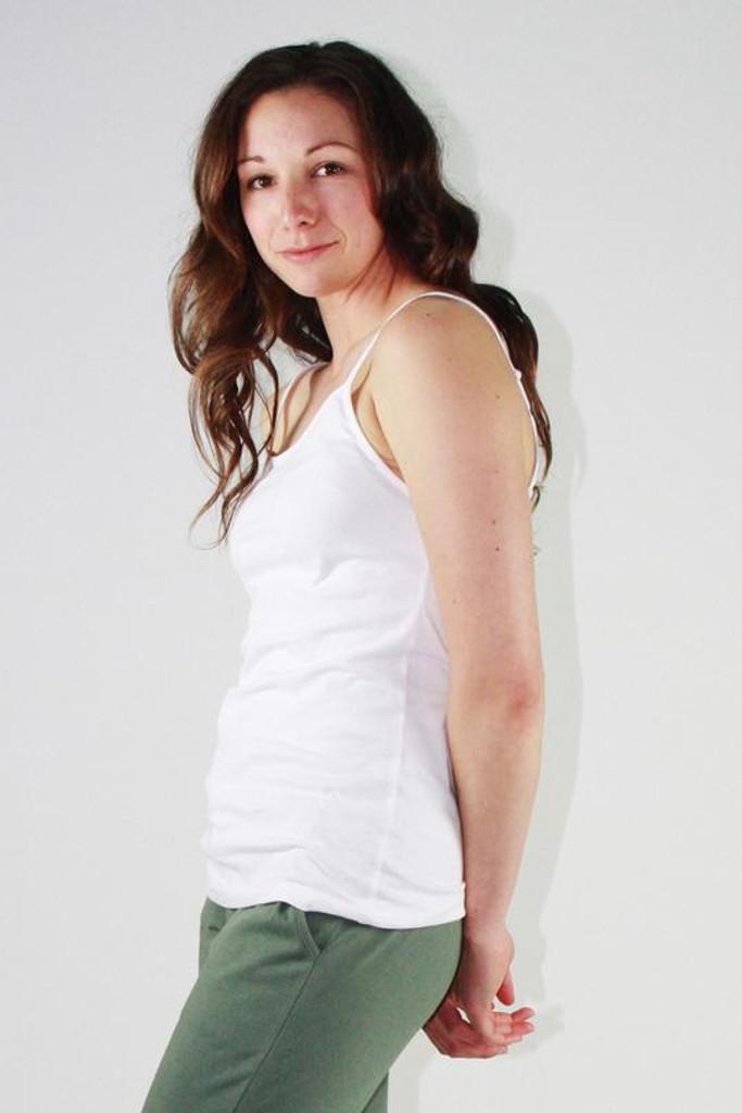 One Ten Willow Camisole Singlet White