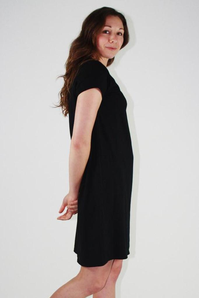 One Ten Willow Betty Dress Black