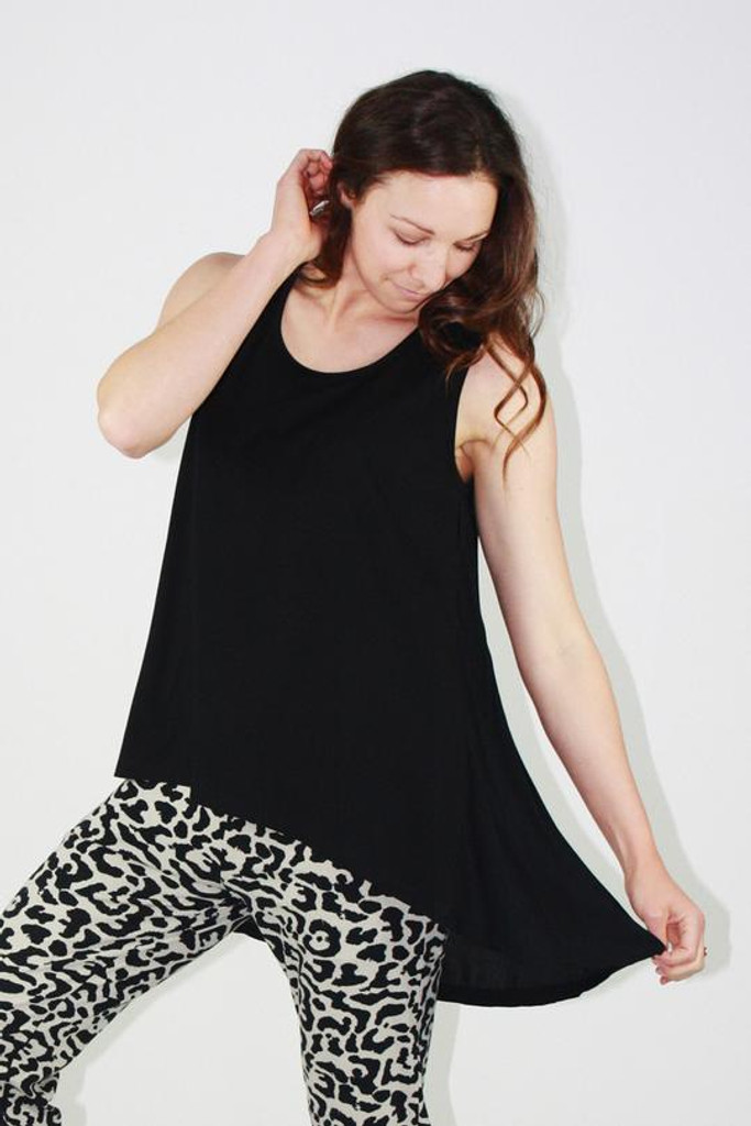 One Ten Willow DB Tank Black