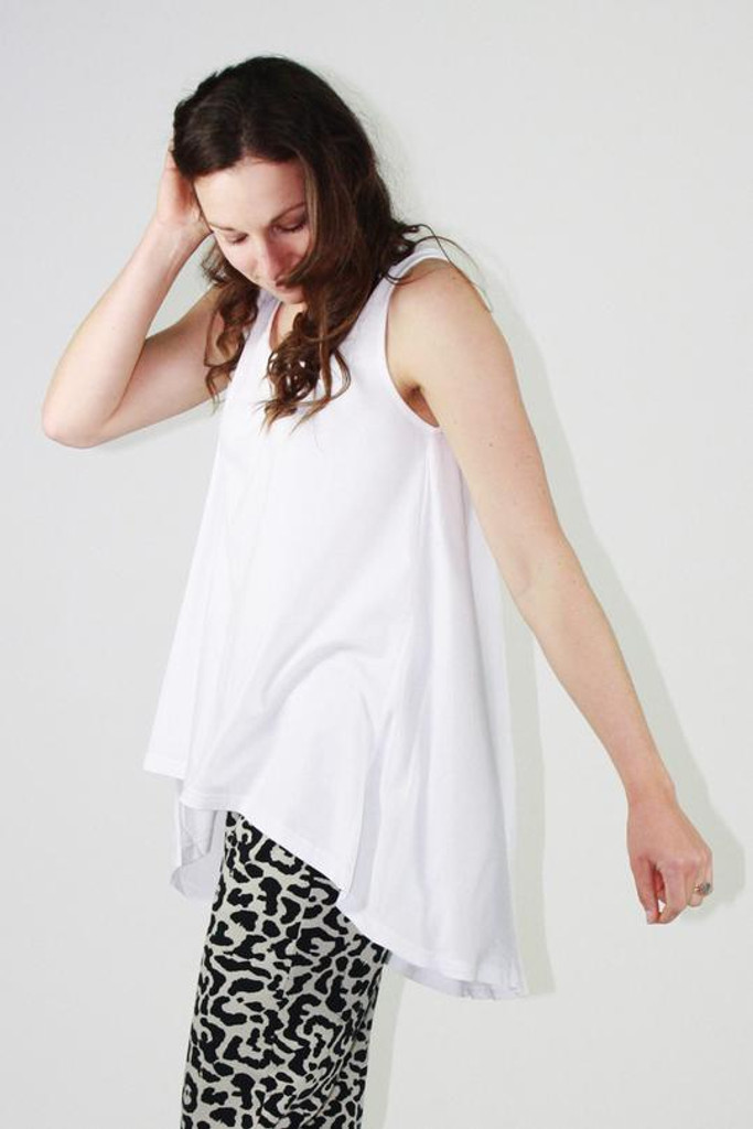 One Ten Willow DB Tank White