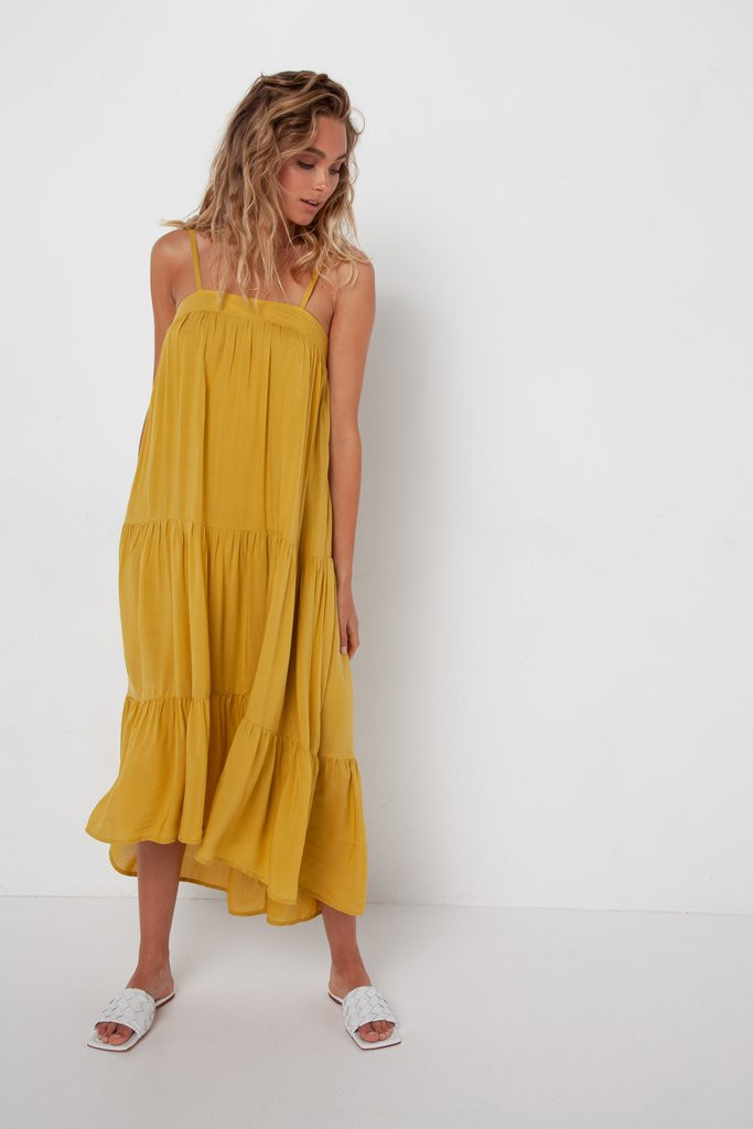 Madison The Label Quinn Dress Citrus