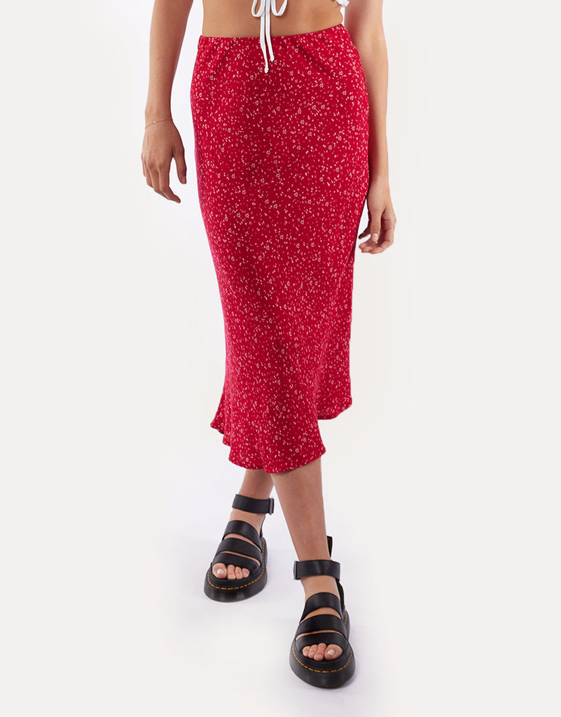 All About Eve Flourishing Midi Skirt