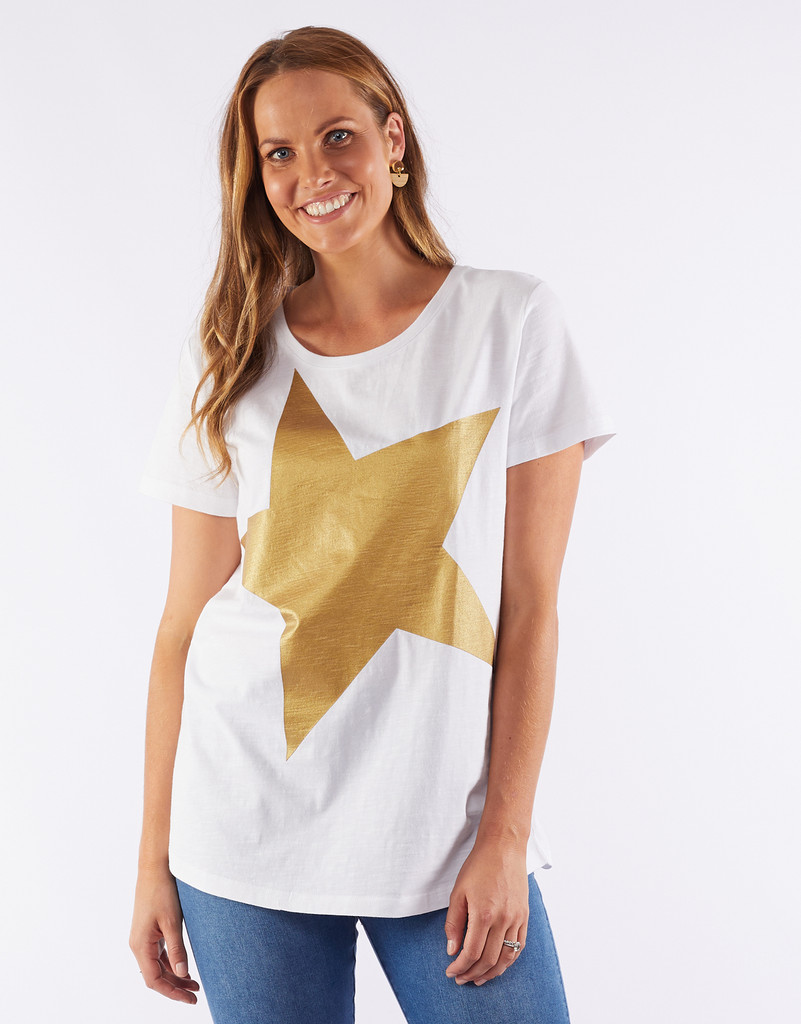 Elm Superstar Tee Gold,