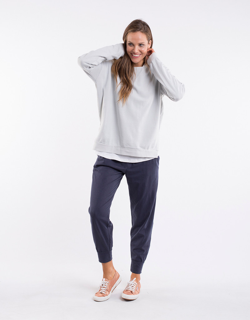 Elm Wash Out Lounge Pant Navy