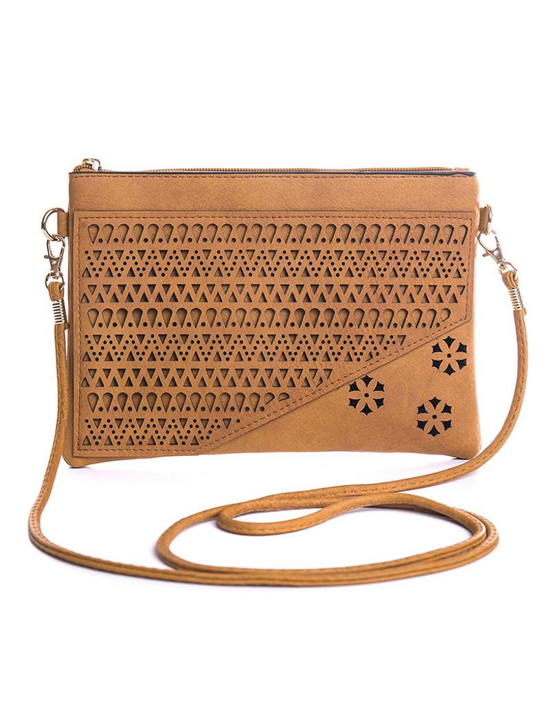 Freez Sling Bag Diagonal Tan