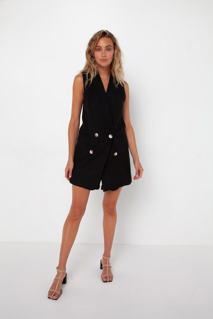 Madison The Label Charlotte Vest Black