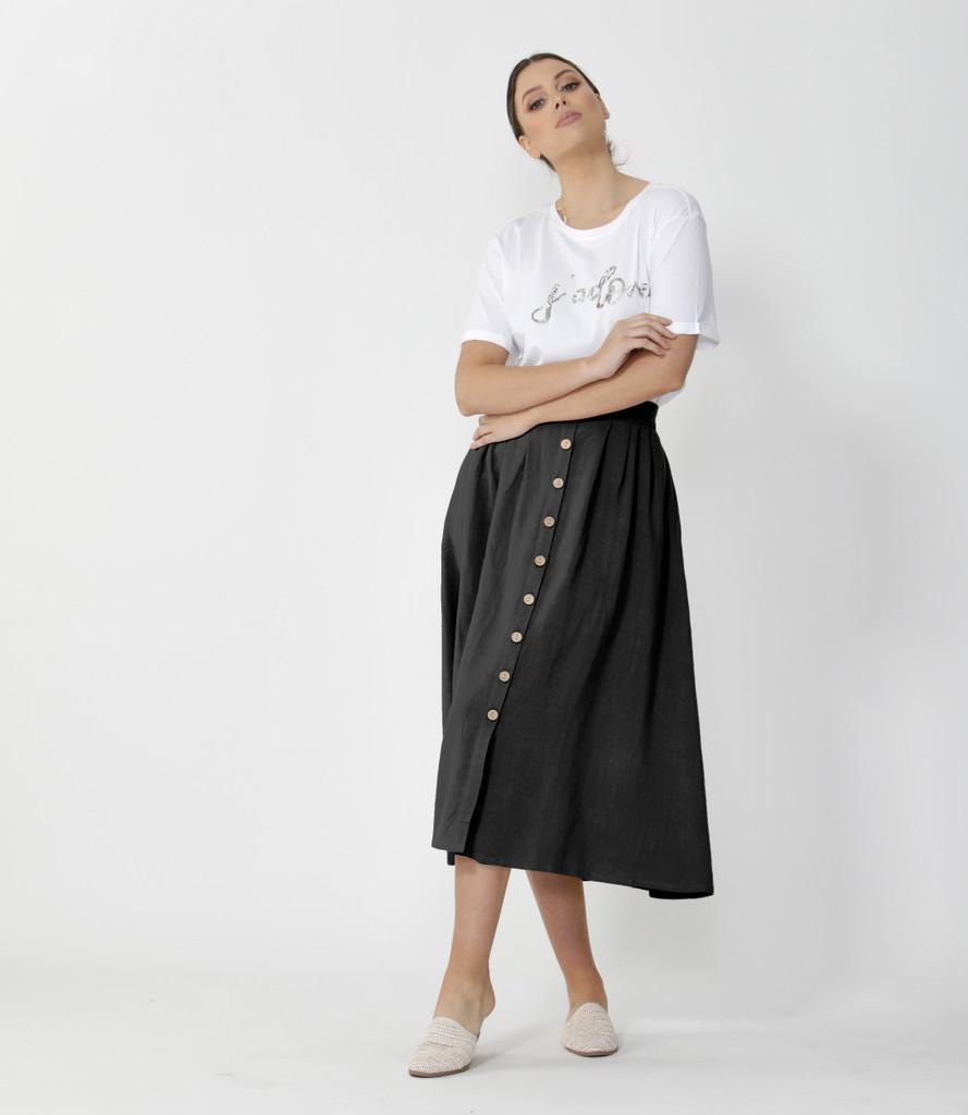 Sass Sutton Skirt Black
