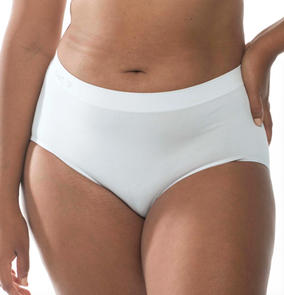 Nat'V Basics Vintage Brief Blanco