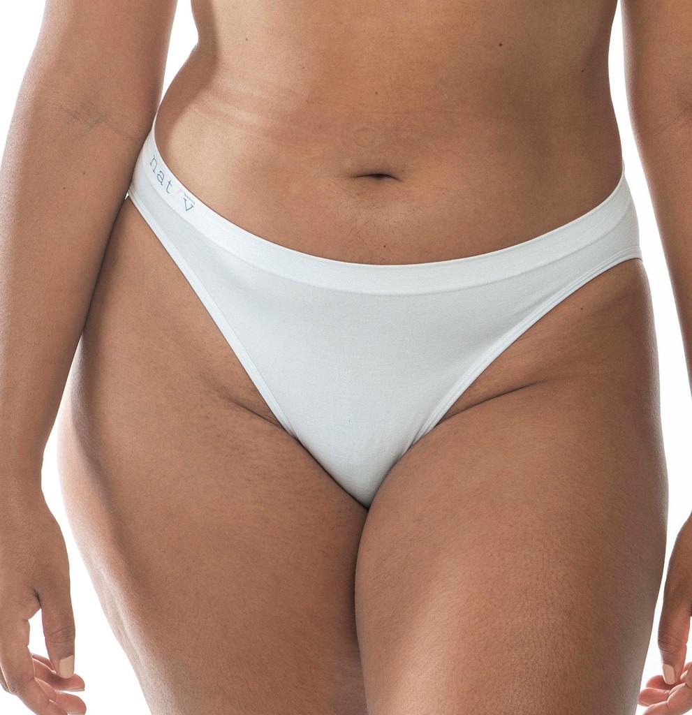 Nat'V Basics Callie Bikini Brief Blanco
