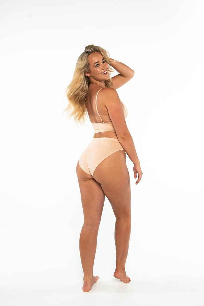 Nat'V Basics Callie Bikini Brief Beige