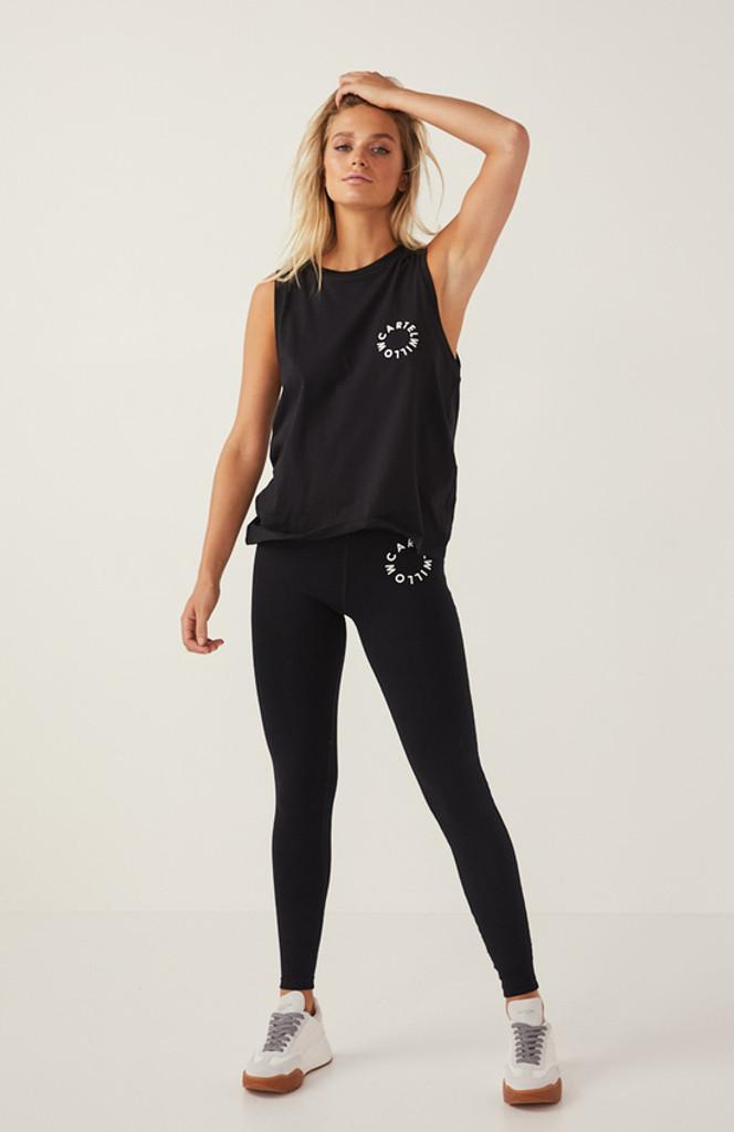 Cartel & Willow Roxy Leggings Black Orbit