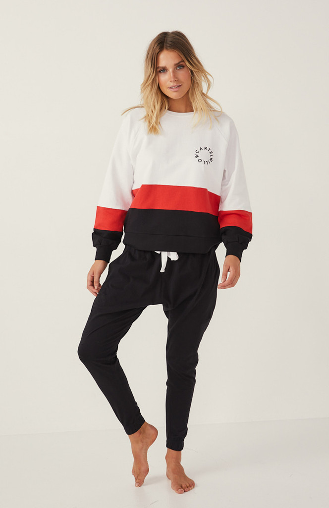 Cartel & Willow Splice Sweater