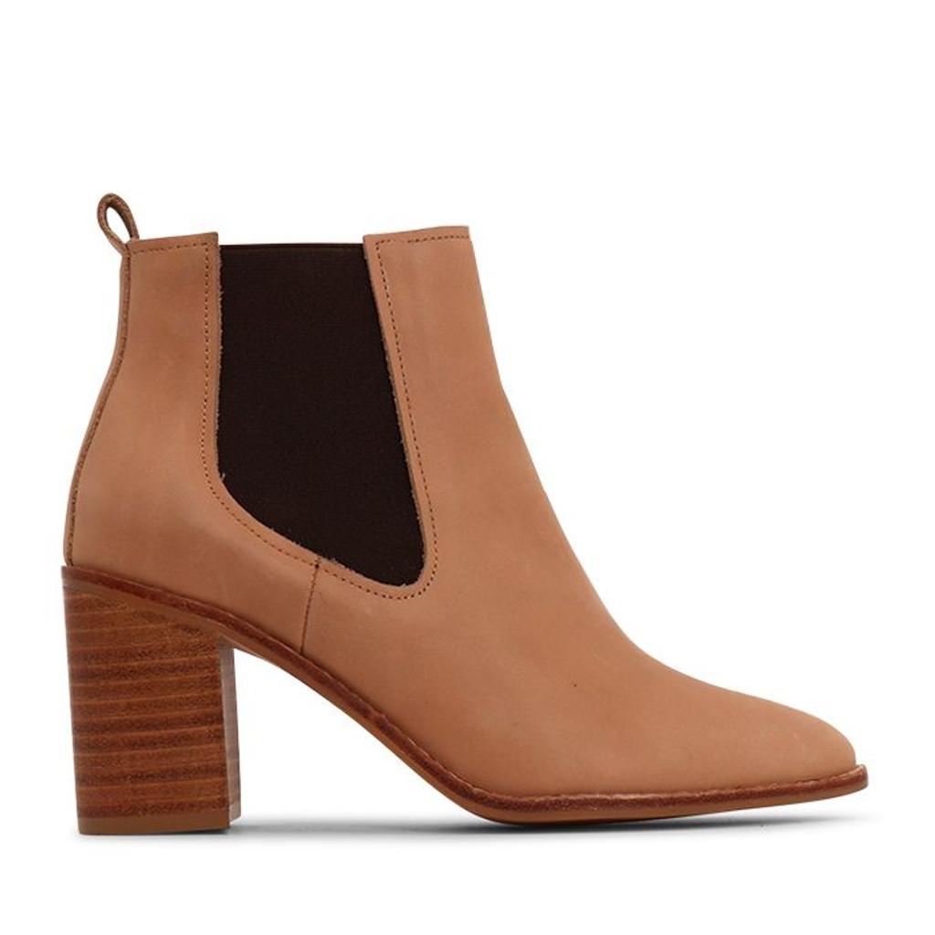 Nude Footwear Hazel Boots Tan