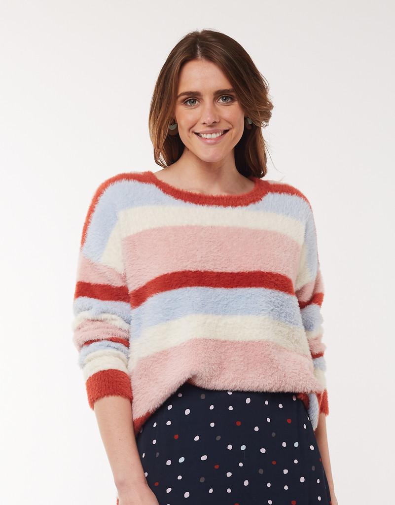 Elm Connie Stripe Knit