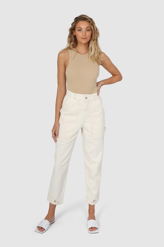 Madison The Label Kenny Jeans Cream