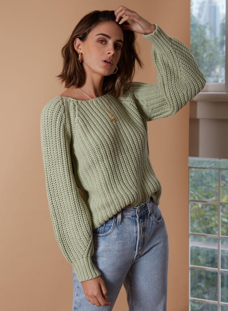 Wish Sensation Sweater Sage