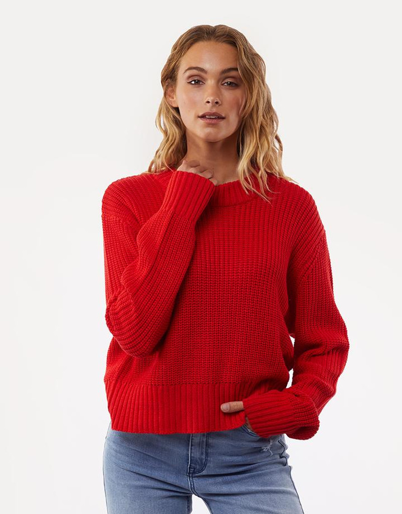 All About Eve Original Knit Red