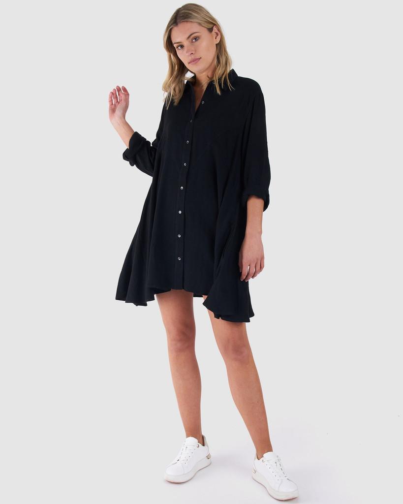 Sass Baylee Dress Black